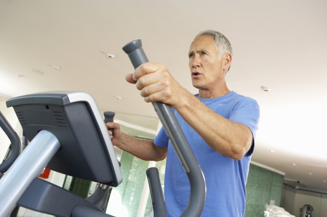 The elliptical can work your upper and lower body at the same time.