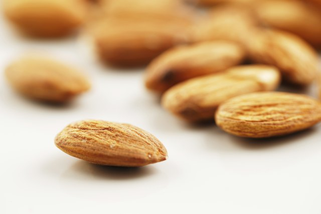 Whole grains and nuts contain high amounts of vitamin E.