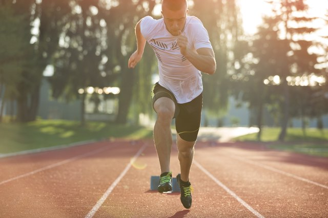 Track workouts develop lactate threshold and VO2 max.