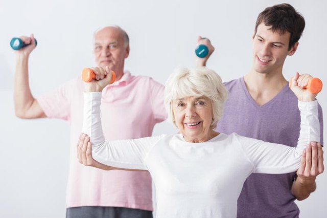 Dumbbell Exercises for Seniors
