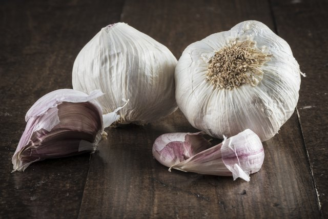 Garlic can also reduce triglyceride levels.