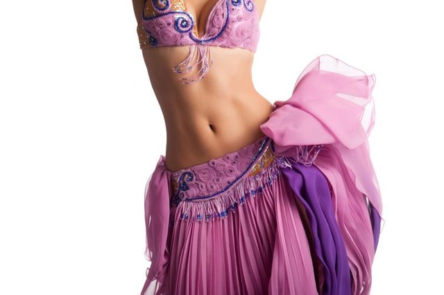 Belly dancers work every aspect of their core.