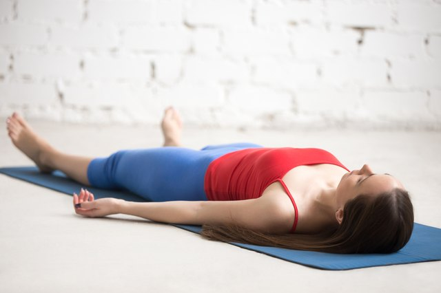 Any physical practice ends with Savasana.