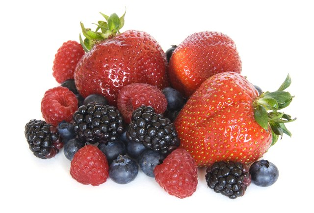 Berries contain flavonoids.