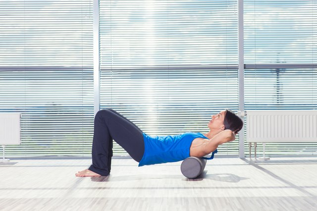 Foam rollers are lightweight and portable.