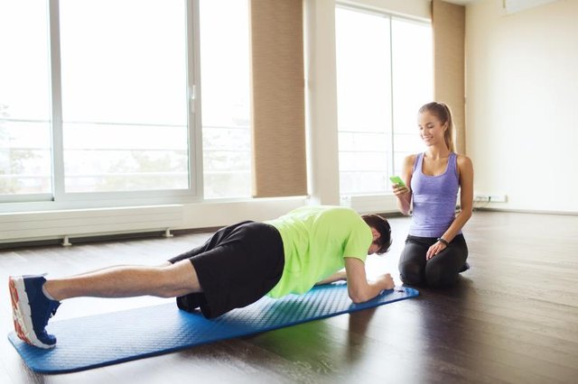 You can develop your core strength without needing any exercise equipment.