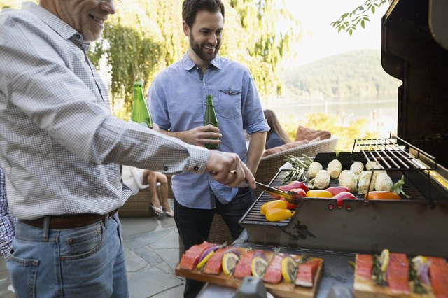 Fire up the grill and dine al fresco.