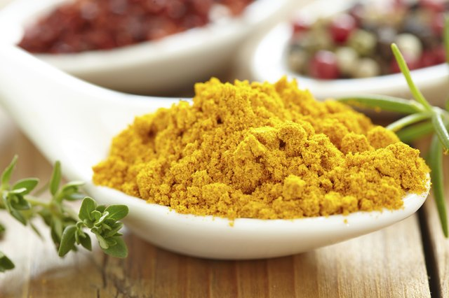 Curcumin is the active ingredient in turmeric.