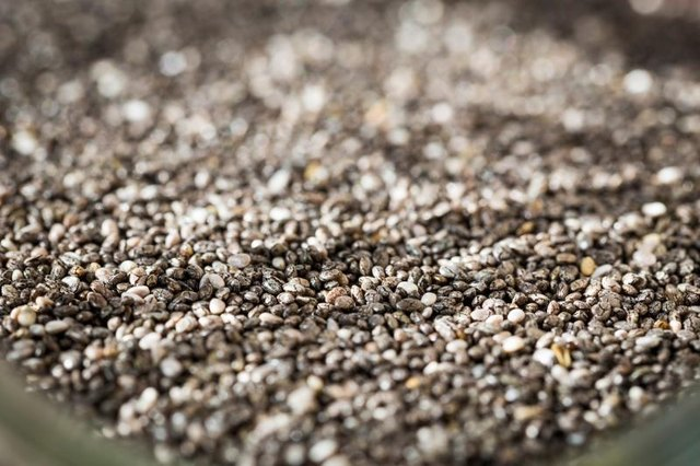 Chia seeds are a great source of vitamins A, B, E, and D.