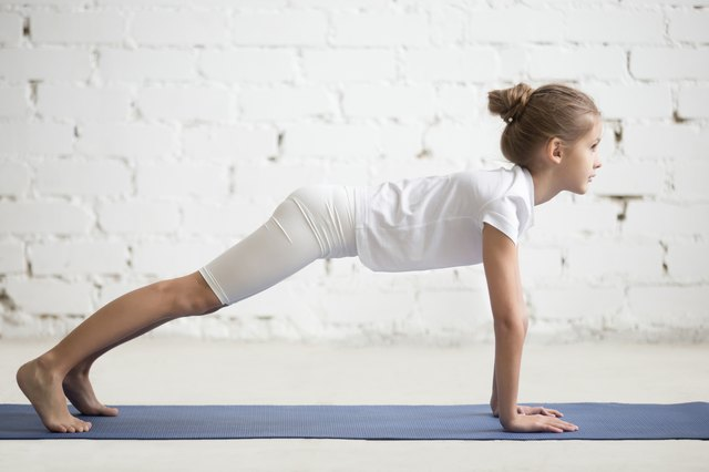 A Pilates plank is appropriate for just about any age.