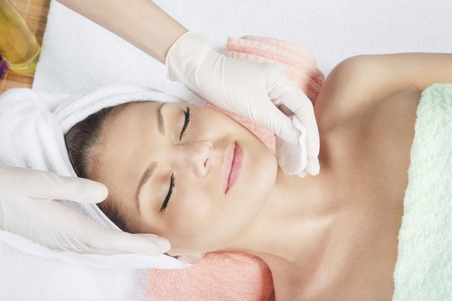 A professional can administer a chemical peel.
