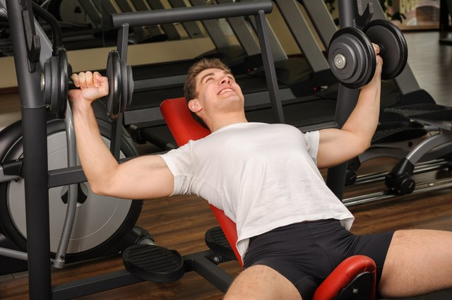 Multiple exercises benefit your chest.
