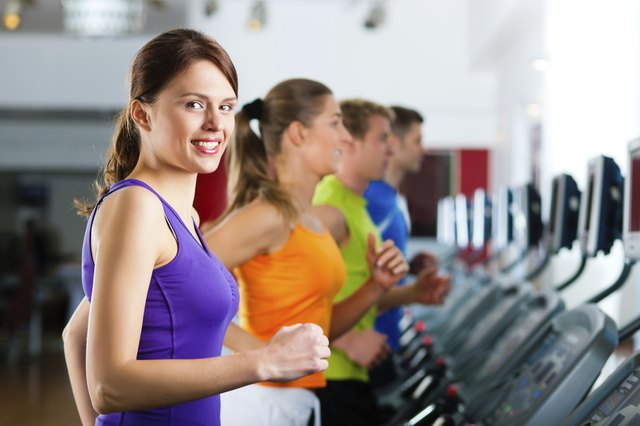 Aerobic training at an incline can help build muscle mass.