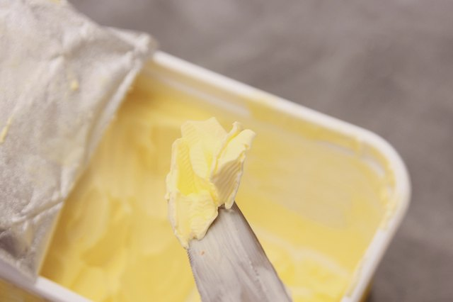 Margarine has trans fat.