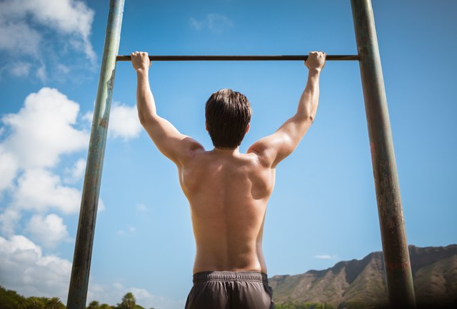 A pull-up rig is sturdy because it's mounted on the ground.