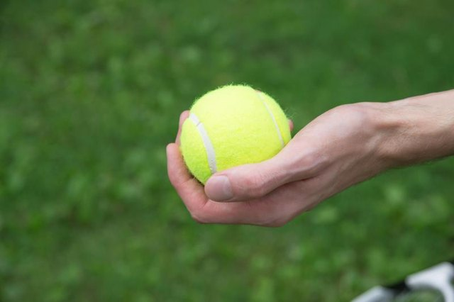 Tennis Ball Exercises for Carpal Tunnel
