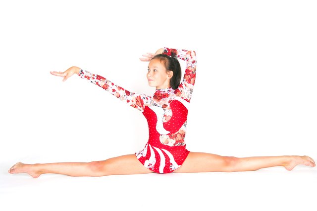 Gymnasts have a higher bone density than sedentary people.
