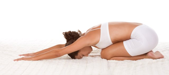 Stretching the low back muscles can help you restore proper curvature in the low back.