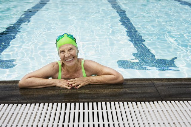 Swimming will help tone all your muscles.