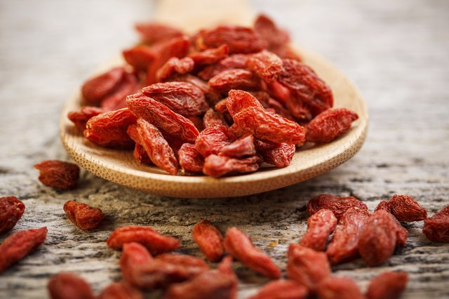 Goji berries is also known as wolfberries.