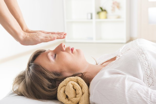 Reiki typically involves minimal physical touch.