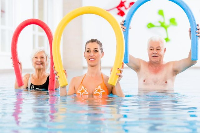 Free Shallow Water Aerobics Exercises