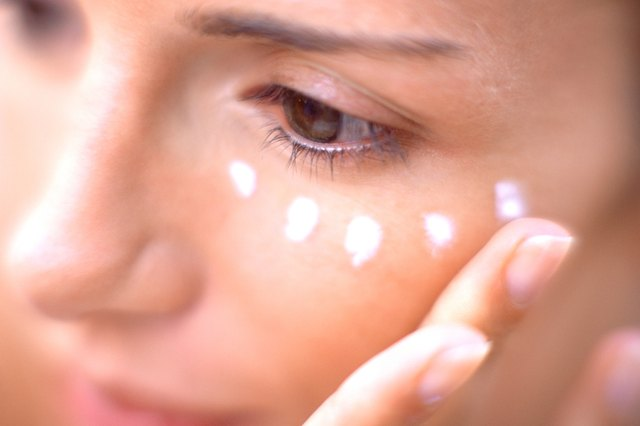 Eye creams containing caffeine may provide some benefit, but they are temporary.