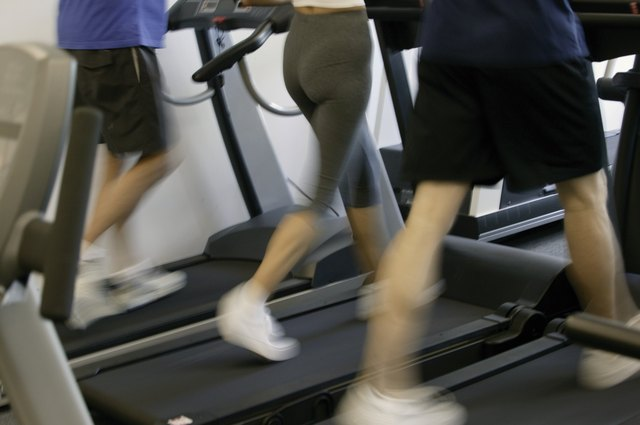 Start off with a treadmill, then move up to a star-stepper as you feel more comfortable.