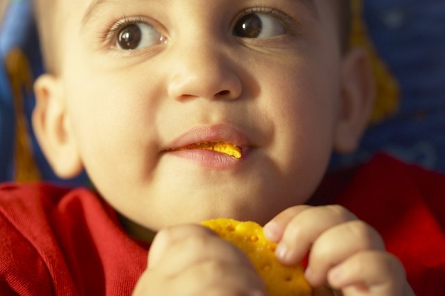 Healthy carbs can help your little one calm down before bed.