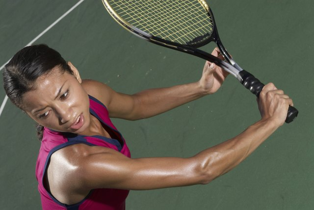 Tennis is a leading outdoor activity for calorie-burning.