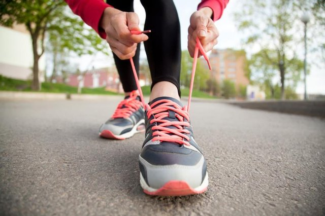 Lacing up your sneakers once in a while provides variety to your workouts.