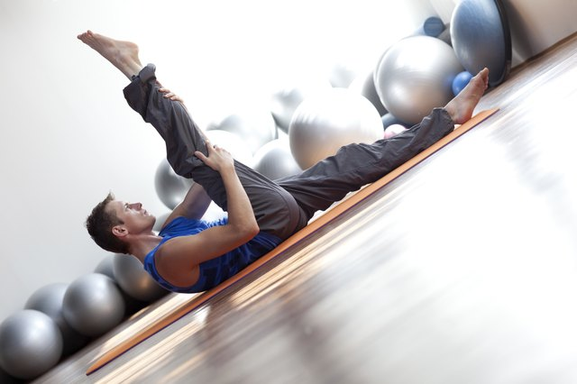 Pilates can help beginners lose pounds.