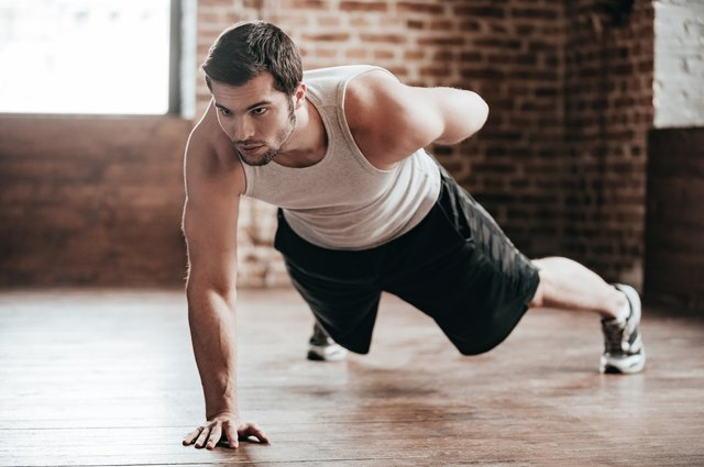 Use uneven push-ups as a step toward learning the one-armed version.