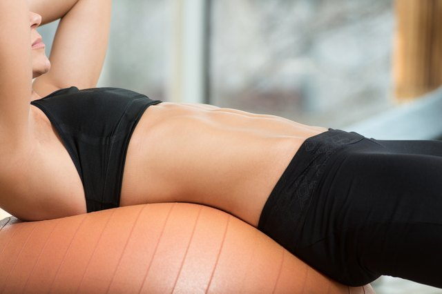 Do Sit-Ups on a Stability Ball