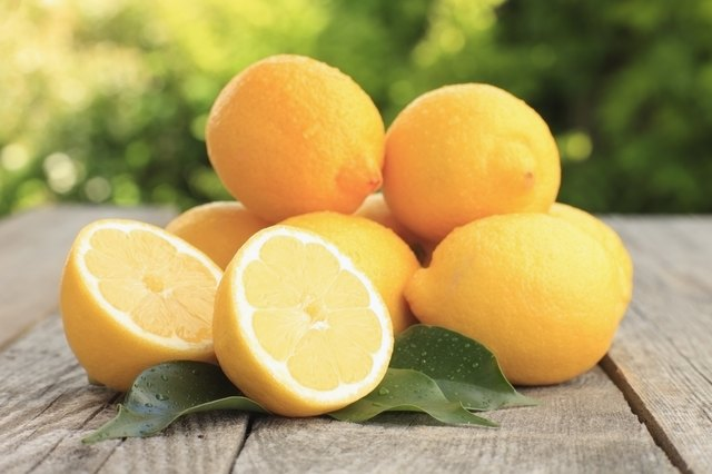 Lemon juice lightens skin.