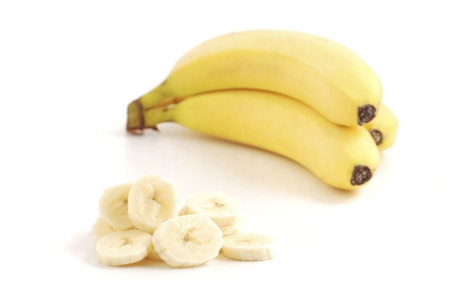Bananas and soft fruits are good to eat.