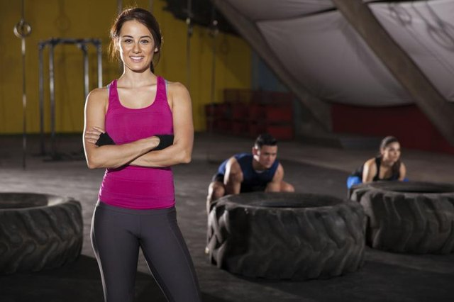 Certified CrossFit Trainers work independently out of gyms or other facilities.