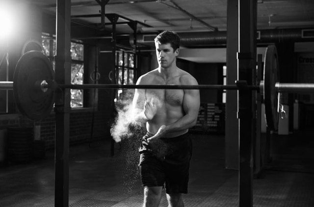 The push jerk builds strength, power, and explosiveness.