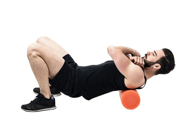 Foam rollers can be used to stretch many areas of the body.