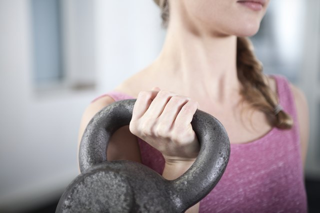 Embrace high-intensity exercises, including kettlebell moves.