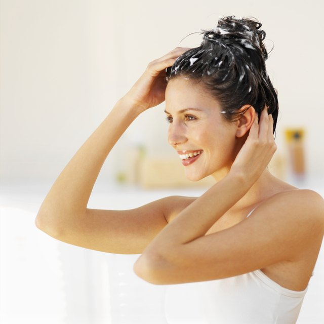 Protein treatments are good for mildly damaged hair.