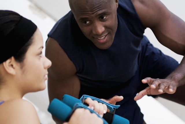 Ask advice from a personal trainer.