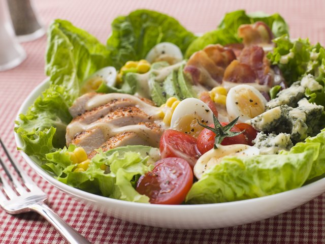 Cobb salad doesn't require you to cook anything.