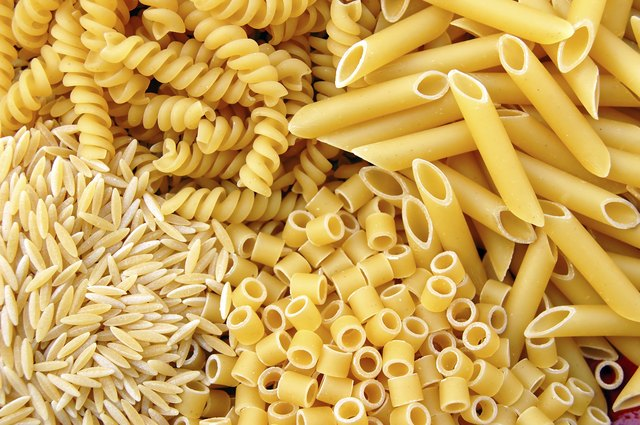 Pasta can be eaten by 8-12 month olds.