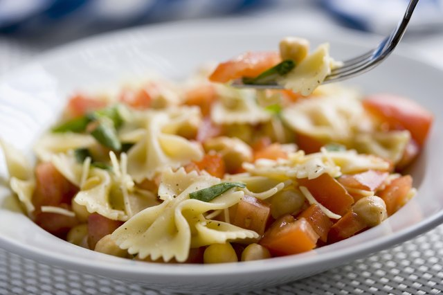 Fresh pasta salads make their way back to the spring menu.