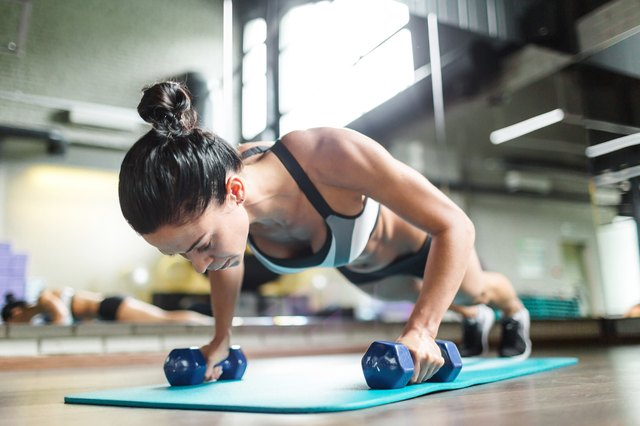 Add some variety into your push-up routine.