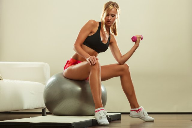 Add extra weight to boost the caloric burn during your workout.