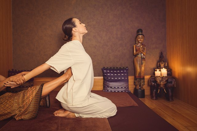 benefits of thai yoga massage livestrong com. Black Bedroom Furniture Sets. Home Design Ideas