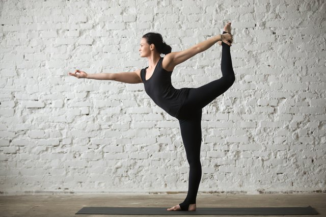 Standing Bow requires flexible hips and back muscles.