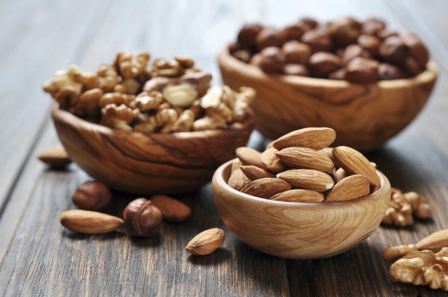 get unsaturated fats from foods like nuts